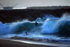 DSC09357 (palmtreeman) Tags: sea seascape beach water weather surf waves surfing beaches wedge bodyboarding skimming bodysurfing