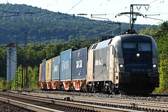 D  Dispolok ES 64 U2-035 Gemnden am Main 12-08-2012 (peters452002) Tags: railroad train germany d cd siemens eisenbahn rail railway zug trains olympus cargo etrain locomotive taurus bahn railways trein railroads spoor duitsland spoorwegen lokomotive treinen twop ferrovia e510 gemnden elok containertrain lokomotief olympuse510 clickcamera jalalspagestransportationalbum containertrein peters452002 gemndenammain