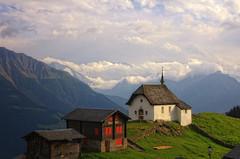 Bettmeralp (ceca67) Tags: light mountain church nature landscape photography switzerland photo nikon village swiss 2012 bettmeralp d90