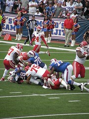 Buffalo Bills vs. Kansas City Chiefs 9.16.12 (MattBritt00) Tags: ny newyork sports football buffalo buffalobills bills stadium nfl kansascity tackle chiefs afc americanfootball orchardpark footballstadium kansascitychiefs ralphwilsonstadium nationalfootballleague cjspiller americanfootballconference