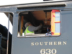Final Checks (bluerim) Tags: alabama birminghamal norfolksouthern consolidation tvrrmuseum 21stcenturysteam southern630