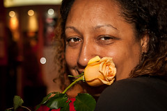 Shinique's rose (olikristinn) Tags: canada caf quebec montreal du le nouveau monde nem 2012 kanada ruesaintecatherine june2012 26062012 lecafdunouveaumonde 84ruesaintecatherineouest