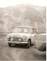 Austin Mini SE7EN- 1960 Monte Carlo Rally - 04 (Rally Pix) Tags: austin jack rally mini tommy se7en carlo monte hay wisdom 1960 619aog