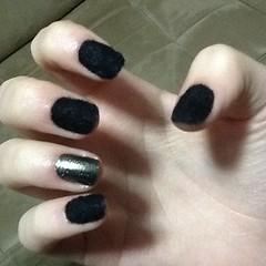 Unhas de Plush (Sara Moreira de Oliveira) Tags: black cute nail preto plush nails blacknails unhas nailart capricho unhasdecoradas unhadasemana clubedoesmalte plushnails