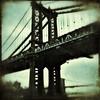 Manhattan and Brooklyn Bridges (blaneyphoto.) Tags: nyc bridge newyork architecture outdoors day nobody manhattanbridge