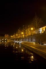 bierkaai 3 (angelo vlassenrood) Tags: longexposure netherlands dark evening nacht nederland zeeland avond longshutter zeeuwsvlaanderen hulst eos7d bierkaai