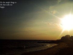 Sunsets And Water (91/365) (Caboose) Tags: 3 beach water project out outside photography this day waves doors personal d ninja edited vlog sunsets blogging while 365 lalala done unicorn sparkly epic 91 poptart havent picmonkey
