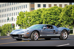 Ford GT, Cars and Coffee, Irvine, California (Kevin Ho 車 Photography) Tags: auto california usa ford car speed america muscle military united performance 9 september event american states mustang 29 gt corvette supercar carshow irvine 2012 gt40 carsandcoffee