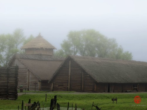 Iron Age Lake Settlement, Biskupin, PL