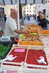 Trento (TN), 2012. (Fiore S. Barbato) Tags: italy trento funghi alto mercato porcini rossi trentino bancarella altoadige mercatino adige fungo bancarelle porcino mirtilli finferli