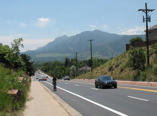 Photo - N. Broadway Bike Lanes - After
