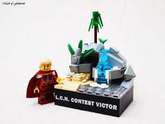 Trophy received (Mark of Falworth) Tags: landscape lego contest trophy lcn