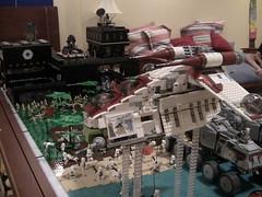 Corellia MOC Finished (LMM98) Tags: detail army star big lego explosion wip battle hidden bunker huge wars clone base outpost moc stap corellia legomocmaker98