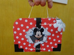 Maletinha Mickey (Reca Portella) Tags: birthday party aniversario cool child box mickey linda criana festa mala maletinha