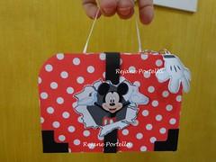 Maletinha Mickey (Reca Portella) Tags: birthday party aniversario cool child box mickey linda criança festa mala maletinha