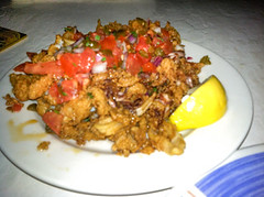 Cabo Calamari, Sharky's on the Pier, Venice, Fl, Restaurant Review (The Watering Mouth) Tags: venice florida cloak fl cloaked sharkys restaurantreview venicefl sharkysonthepier thewateringmouth