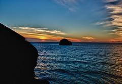 Sunset-trebarwith (mrg.allen) Tags: sunset cornwall trebarwith hdr trebarwithstrand gullrock