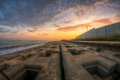 Scenery of Ariake-cho, Tomakomai (javawock) Tags: sunset sea japan clouds landscape hdr photomatix tomakomai