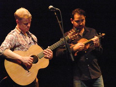 Faustus 11 (petereduk) Tags: cambridge england music concert guitar folk gig livemusic band junction violin fiddle trio faustus benjikirkpatrick paulsartin faustusband faustusmusic