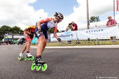 2016-07-30 EK Skeeleren Steenwijk (113a) (Peter Donderwinkel) Tags: ekskeeleren2016steenwijk inlineskating seniorladies junioraladies ek klimvansteenwijk schaatsennl kpn skeeleren outdoor sport event speed race canon