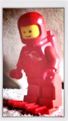 (roleATL) Tags: legacy minifig cosmonaut rojo 80s childhood happydays lego