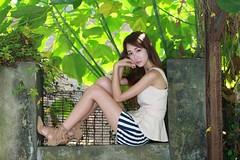 DP1U6167 (c0466art) Tags: lovely cute pretty university taiwan girl  beautiful eyes figure slim long hair sweet smile nextdoor kind charming gorgeous out door portrait light canon 1dx c0466art
