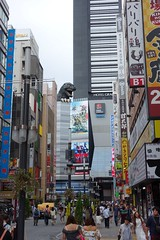 Godzilla road, Tokyo (pelican) Tags: dscrx100 tokyo godzillaroad shinjuku