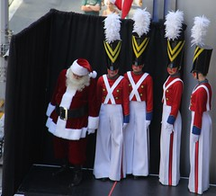 Celebrating Christmas in August at Radio City Music Hall with the Rockettes and Santa (AndrewDallos) Tags: nyc new york city manhattan rockettes radio music hall christmas santa august