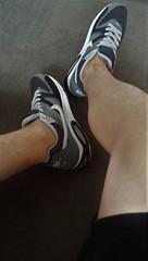 Nikes (DCshoesboy92) Tags: sockless nike shorts freeballing freeball