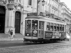 Lisbon Story (Kalsa (m.a.mondini)) Tags: europa portugal lisboa portogallo lisbona bw tram electrico kalsamamondini leica leicadlux6