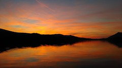 Sunset, Derwent Water, Cumbria, UK. (Portlandbill) Tags: derwentwater cumbria