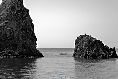 I Malavoglia - #AciTrezza #CT #Sicilia #Italia . (rossolavico) Tags: europa europe italia italy italien sicilia sicily sizilien catania katane acicastello acicastle squatritomassimilianosalvatore rossolavico mare sea marionio ioniansea lavacoast castellodilava castle castello cielo sky nuvole clouds maltempo seastorm mareggiate marenostrum nikon nikond3100 filerawnef filerawnefconversionjpeg fileraw viewnx2users acitrezza ifaraglioni polifemo mitologia imalavoglia giovanniverga cyclops mitologicalsite flickrsicilia roccebasaltiche basalto