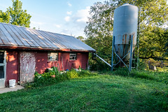 old dairy barn (adamthecholo) Tags: dairybarn nikond5300 tokina1116mm summer old outside red farm country