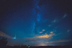 Perseid Meteor Shower 2016 | Lithuania [Explored] (A. Aleksandraviius) Tags: perseid meteor shower 2016 lithuania night stars nikon d810 lietuva 1424mm europe sky explore explored nikkor