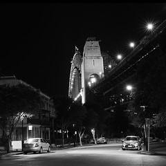 Sydney @ Night (Colin_Bates) Tags: sydney harbour bridge rocks night shoot
