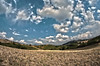 Two Mountains - HDRI (6 Shots) (Federico Violini) Tags: monteamiata montelabbro toscana tuscany nikond300 highdynamicrangeimages hdri clouds landscape paesaggio arcidosso italia italy fisheyesamyang natura nature