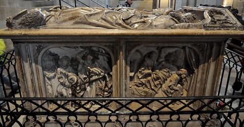 Bamberg (Alemania). Catedral. Sepulcro del emperador Enrique II y su esposa Cunegunda, 1499-1513. Tilman Tiemenschneider