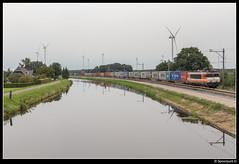 LC 9908 - 50587 (Spoorpunt.nl) Tags: 19 augustus 2016 locon 9908 coevorden shuttle container trein 50587 de haandrik coevorderkanaal