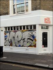 Met (Alex Ellison) Tags: westlondon urban graffiti graff boobs nottinghillcarnival2016 mrmet cbm