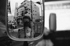 (Corblate) Tags: french girl teenager black white portrait natural light japan tokyo nikon d5100