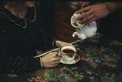 (Mariam Berodze) Tags: cup vintage love flowers tea teapot film filmphotography fujifilm zenit11 zenit