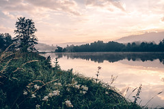 Evening (mripp) Tags: evening abend night nightfall romance river water sunset retro vintage bavaria bayern germany deuthscland upper palatinate oberpfalz art kunst landscape landschaft