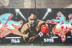 Street Art ? Artist (anthsnap!) Tags: london streetart muhammadali boxing