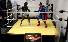 2016-Superman vs Muhammad Ali Action Figures at SDCC-02 (David Cummings62) Tags: sandiego ca calif california comiccon con actionfigure muhammadali superman comic dccomics