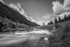 - Reservation II - (Mr. LookUP) Tags: italy southtirol unique landscape blackandwithe blackwhite bw nature wildlife clouds longtimeexposure longshutterspeed grass 2016 canon 1740mm wideangle