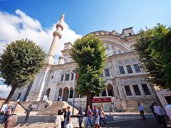 Nuruosmaniye mosque, Istanbul, Turkey (CamelKW) Tags: turkey2016 nuruosmaniyemosque istanbul turkey fatihdistrict grandbazaar