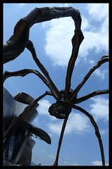 Guggy Spider (King'76) Tags: bilbao spain guggenheim king76 canoneos6d