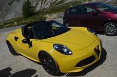 Alfa Romeo 4C Spider (benoits15) Tags: automotive automobile racing rallye italian italia italy prestige supercar festival flickr german gt motor meeting car coches classic cars collection voiture nikon alfa romeo 4c spider