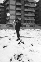 myself (Giulio Gigante) Tags: snow neve film pellicola biancoenero bw bn giulio giuliogigante giuliogigantecom eccoqua portrait me myself ritratto portanuova bianco white bencini corolla koroll 2 120mm