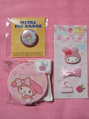 My Melody Pin, Trinket Case & Plastic Stickers (Suki Melody) Tags: hello pink roses cute rabbit bunny face rose metal bag tampa mirror design orlando pin phone with florida girly character stickers cell kitty case compartment sanrio collection plastic celebration melody purse badge bow kawaii series accessories stores charms gem cosmetic trinket accessory mymelody